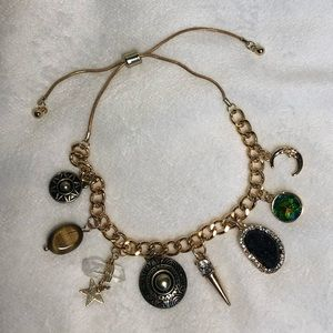Jewelry - Gold Celestial Charm Bracelet